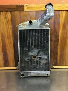 Triumph Tr2 Tr3 Tr4 Radiator With Hole For Engine Crank For Parts T1630