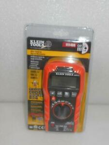 New Klein Tools Mm400 600v 10a Auto ranging Digital Multimeter Capacitance Test