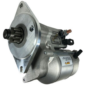 New 9t Starter Fits Mga Mgb 3 Synchro Gearbox 105e11001 25105 25083d 118e11001b