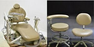 Pelton Crane Sp30 Dental Chair Operatory Package 2 Stools 85078