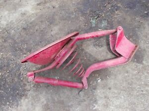 Farmall M Mv H Hv Sh Tractor Original Ih Easy Rider Dual Seat Pan Assembly