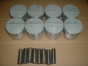 Rare Vintage Ford Fe 427 Pistons L2244f15 Trw New Never Ran Dome Removed