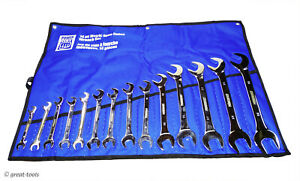 Angle Head Wrench Set Mm Metric 4 Way Automotive Hand Tools