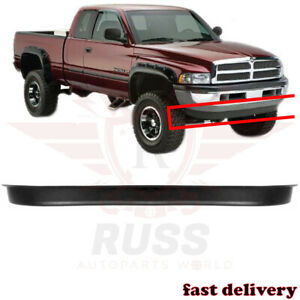 Fits 1994 2002 Dodge Ram 1500 2500 Textured New Front Bumper Lower Air Deflector