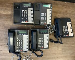 Strata Dk 40 Phone System Lot Of 5 Phones 1 10 0224