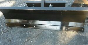 New 48 4 Mini Skid Steer Hydraulic Snow Plow 463 s70 mt50 mt52 mt55 mt85 Bobcat