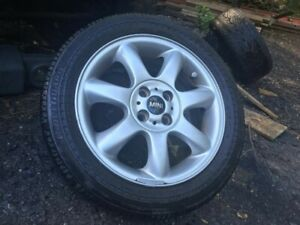 Mini Cooper S Oem 16 Wheel And Tire 195 55rf16