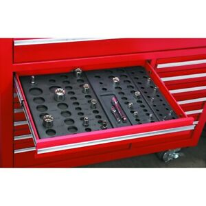 6pc Socket Drawer Organizers Tool Chest Organize Up To 195 Sockets
