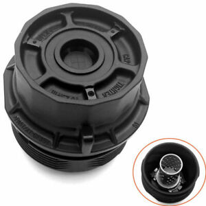 Engine Oil Filter Housing Cap Assembly For 2009 2014 Toyota Corolla Matrix 18l