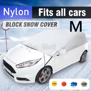 Half Roof Top Car Cover 2 7 X 1 5 X 0 5m Sun Uv Dust Rain Protection Waterproof
