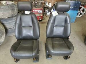 Gmc Sierra Denali 2 Front Seats Bucket Electric Leather W Heated And Cool