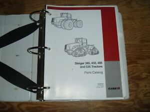 Case Steiger 385 435 485 535 Tractor Parts Catalog Manual 87639133