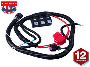 New Dual Electric Fan Upgrade Wiring Harness For 19992006 Ecu Control