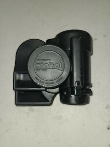 Stebel Loud Electric Air Horn For Motorcycle Or Atv Black 12 Volt