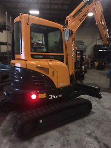 Hyundai Mini Excavator R35z 9a With Ac Cabin We Offer Leasing Financing 2019
