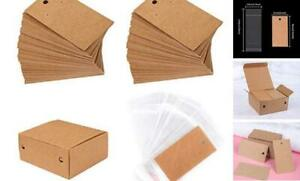 200 Set Earring Display Card With 200 Pcs Self seal Bags Earring Card Holder