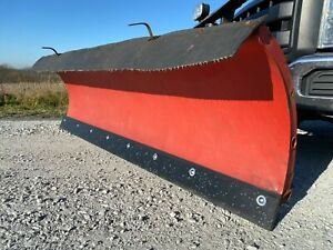 Snow Plow Poly Cutting Edge Western Fisher Buyers Snowdogg Meyers Boss W Holes