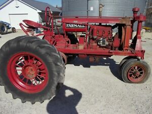 Farmall F20 Late Model Ih Tractor Foot Brakes Pulley Complete Set Round Spokes