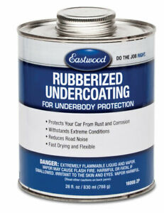 Eastwood Rubberized Undercoating 28 Oz Auto Tools Supplies Prevent From Rust