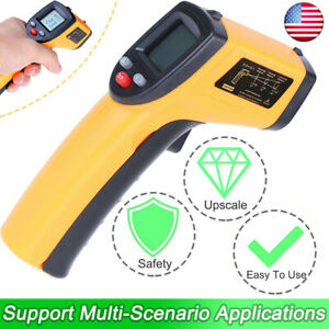 Infrared Thermometer Non contact Digital Laser Infrared Handheld Temperature Gun
