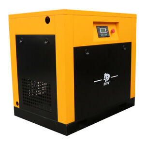 Variable Frequency Drive Screw Air Compressor 125 150psi 39cfm 10hp