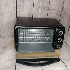 Black decker To1313b 4 slice Toaster Oven Black Compact Counter Top