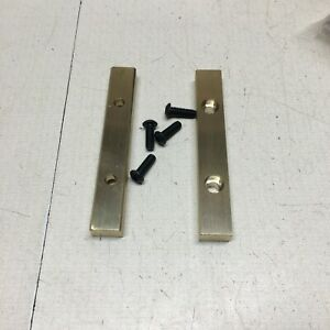 Brass Soft Jaws Fits Wilton 1750 Bench Vise