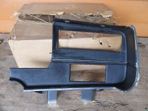Nos 1971 1972 Plymouth Fury Interior Plastic Radio Dash Bezel Trim 3501004