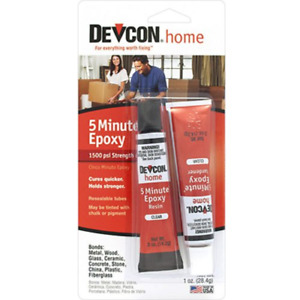 Itw Devcon S205 5 minute Epoxy Glue 1 ounce Tube