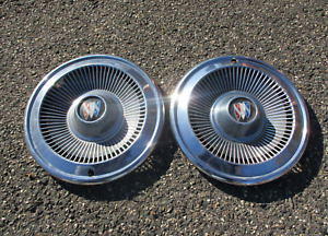 Factory 1966 Buick Special 14 Inch Hubcaps Wheel Covers