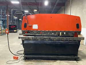 100 ton Amada Cnc Hydraulic Press Brake Model Rg 100