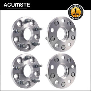 4pcs 15mm Wheel Spacers Adapter 5x114 3 5x4 5 Hubcentric 60 1 12x1 5 For Toyota