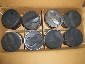 Set Of 8 Oem 1968 72 Ford 360 Fe Big Block Connecting Rods And Pistons C7te a