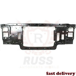 Fits 92 97 Ford F150 F250 F350 Black Steel Radiator Support Assembly Gas Engine