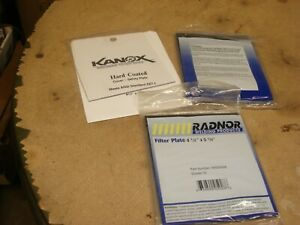 2 Radnor 4 1 2 X 5 1 4 Shade 10 Glass Filter Plate Welding 1 Cover Free Ship