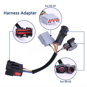 2x Towing Mirrors Wiring Harness Adapter Fits For Ford F250 f550 Superduty 99 07