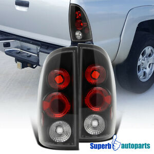 For 2005 2008 Toyota Tacoma Replacement Tail Lights Brake Lamps Black