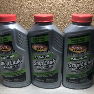 3 Pack Bar s Leaks 1196 Radiator Stop Leak Concentrated 11 Oz Bars Leak x 3