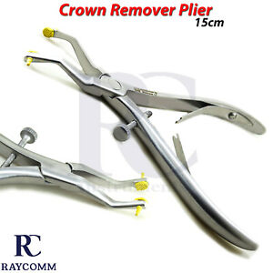 Dental Crown Remover Gripper Pliers Surgical Forceps Orthodontics Instruments