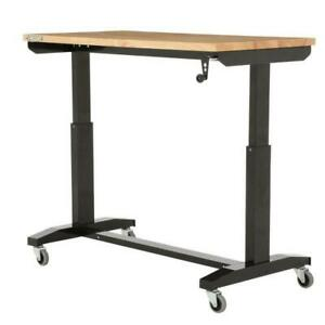 46 In Adjustable Height Work Table