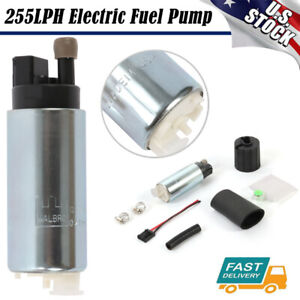 For Walbro Gss342 High Pressure Psi Intake Racing Fuel Pump Universal 255lph As
