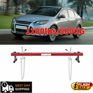 Engine Load Leveler 1100lbs Capacity Support Bar Transmission With Dual Hook Usa