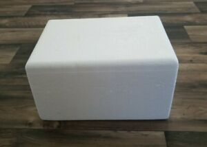 Styrofoam Insulated Cooler Ship Container Perishable Ice Pack Box Chiller