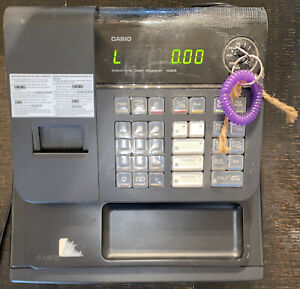 Casio Electronic Cash Register Model 140cr Black Pre owned Working