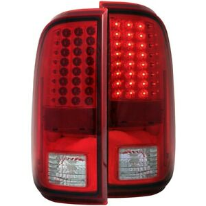 311050 Anzo Set Of 2 Tail Lights Lamps Driver Passenger Side New Lh Rh Pair