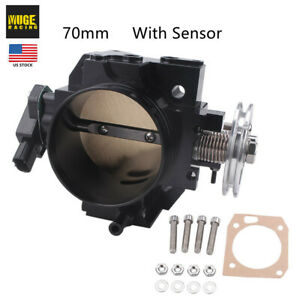 70mm Tps Throttle Body W Sensor For Civic Si K series K20 Engine Acura Rsx Us