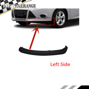 Driver S Side Left Front Bumper Valance Air Deflector For 2012 2013 14ford Focus