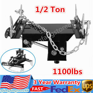 1 2 Ton Transmission Jack Adapter Transform For Automotive Floor Jack 1100lbs Us