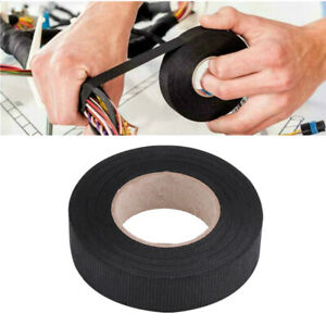 15m Wiring Harness Cloth Tape For Car Automotive Heat Resistant Us Free Shipping