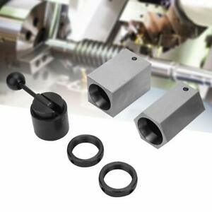 New 5c Collet Block Set Square Hex Rings Collet Closer Holder Box